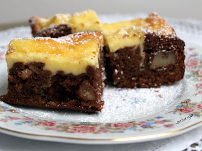 Karamellás brownies/Brownies mit Karamell