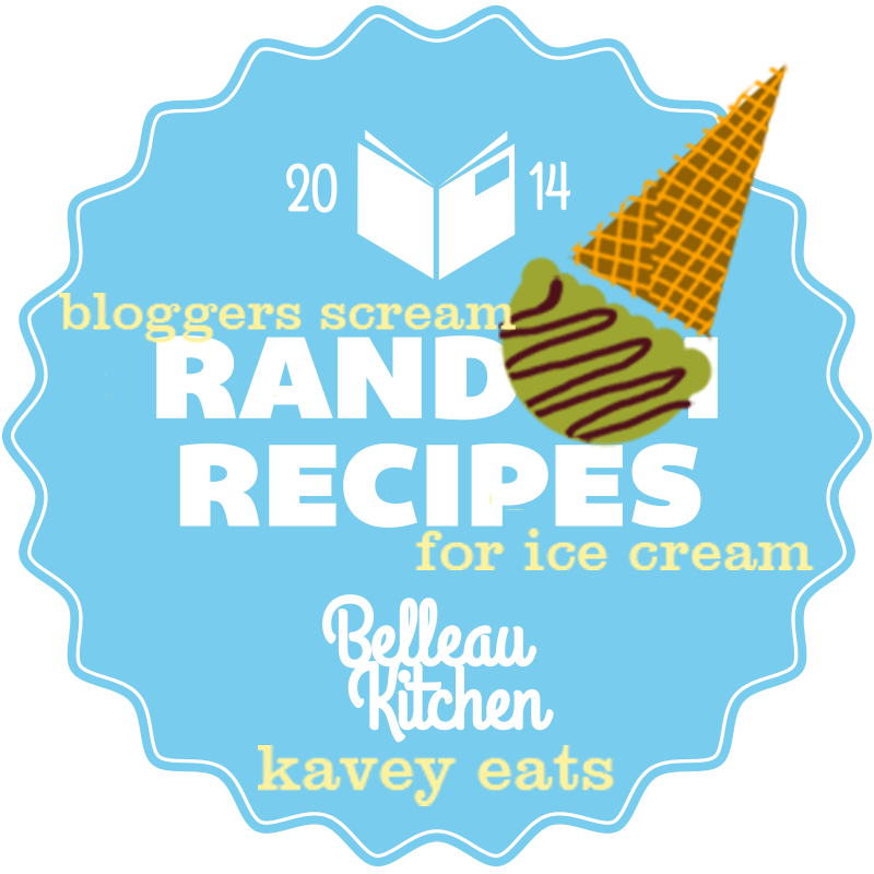 random recipes #42 - random recipes meets bloggers scream for ice cream