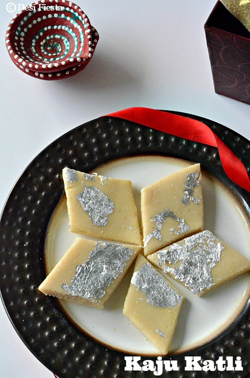 Kaju Katli Recipe |Kaju Burfi - Indian Festival Sweets