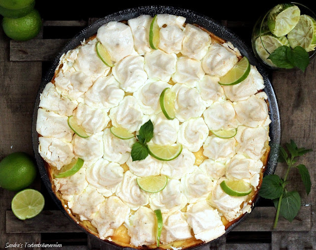 "{Rezi-Friday} Key Lime Cheesecake aus dem Buch ""Cheesecakes"" von Dr. Oetker"