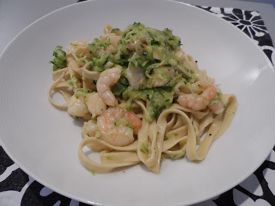 king prawn tagliatelle recipe