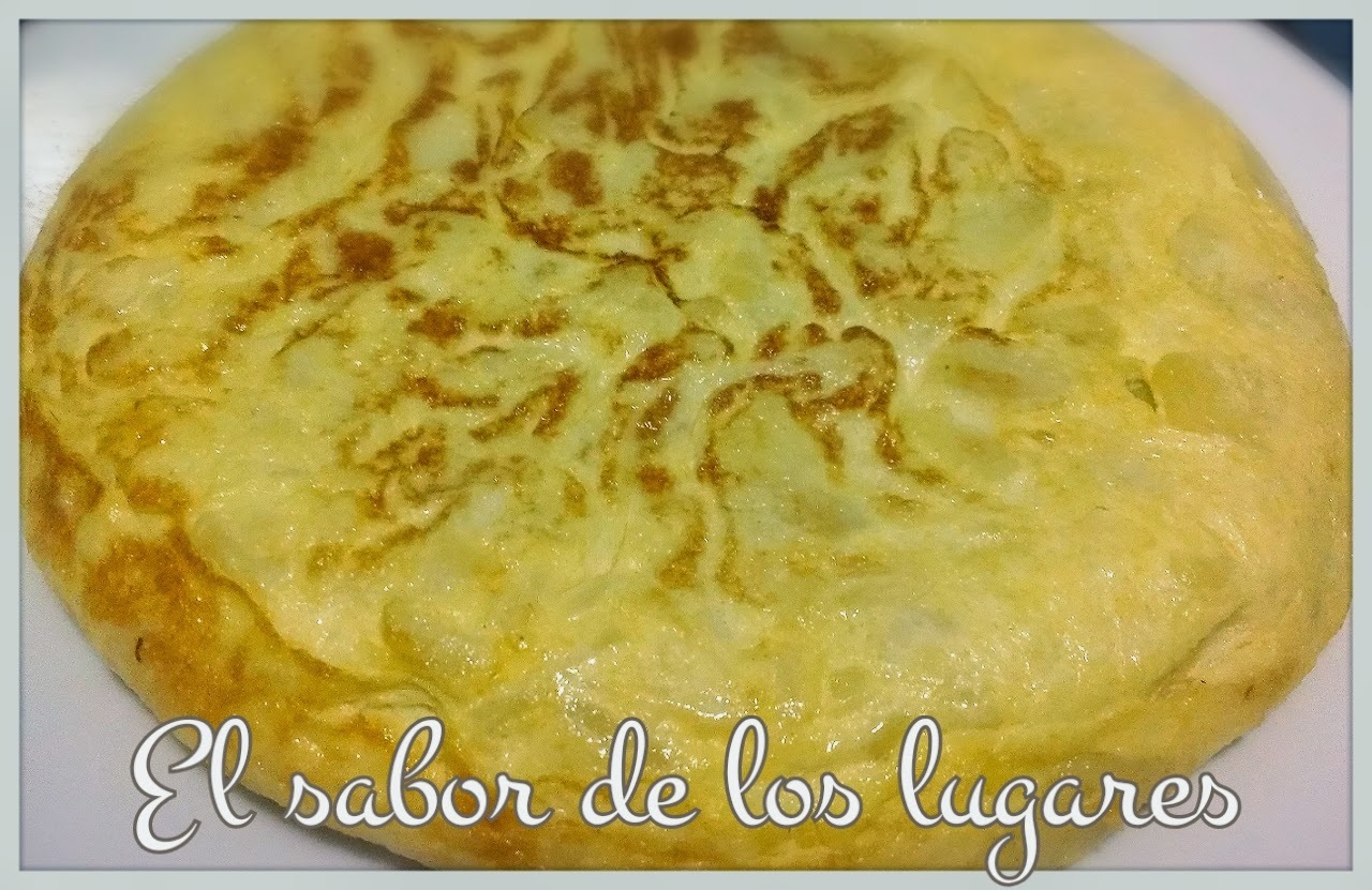 TORTILLA DE PATATAS LIGHT.