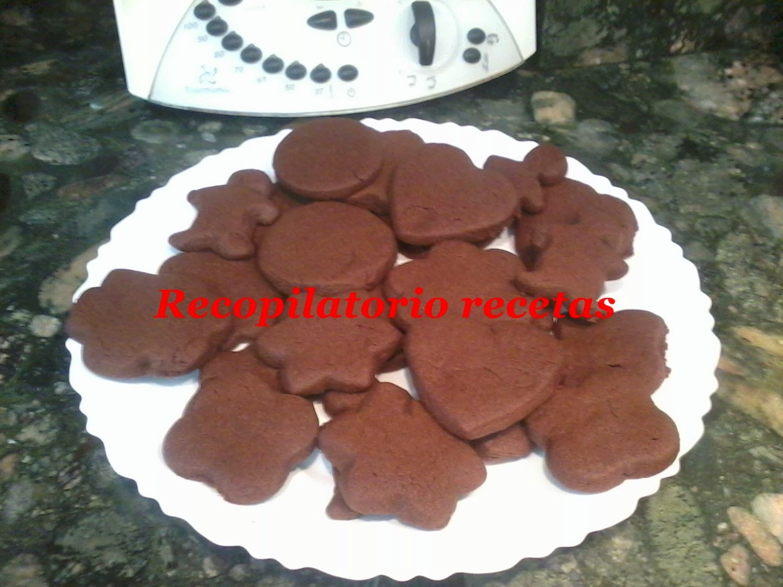 Galletas de chocolate con thermomix