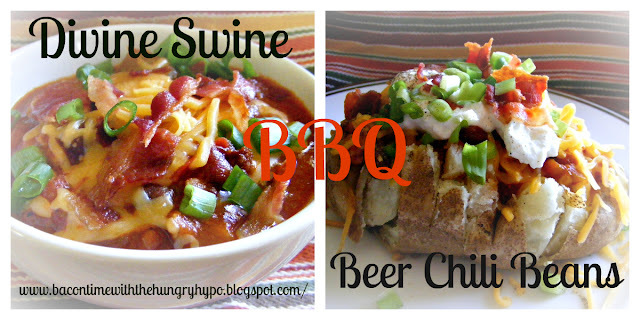 Easy Divine Swine BBQ Beer Chili Beans (Reduced Sodium and Fat)