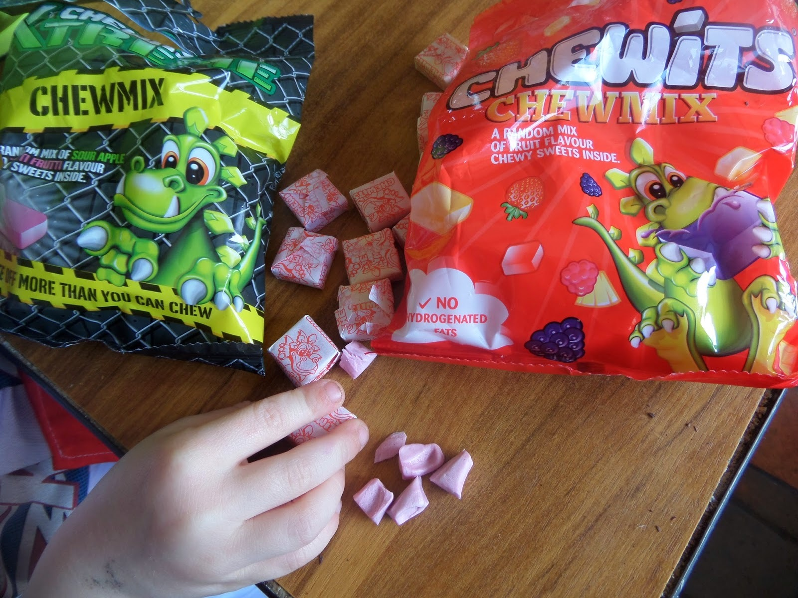 Cooking with the kids : Chewits Rocky Road recipe