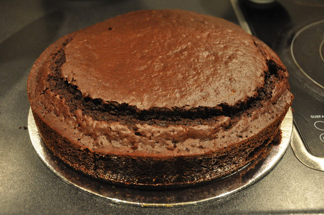 Annabel Langbein's Ultimate Chocolate Cake with Chocolate Ganache and Raspberry