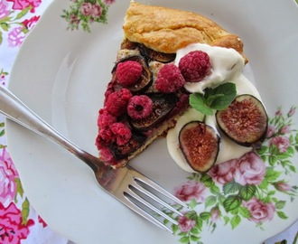 Marsala and Dried-Fig Crostata - myTaste.com