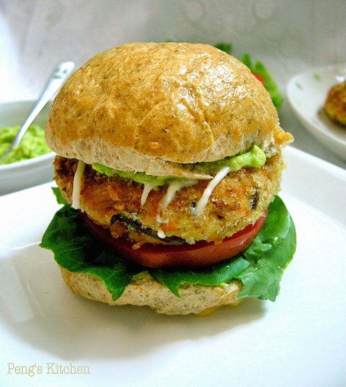 Vegetarian Tofu Burger