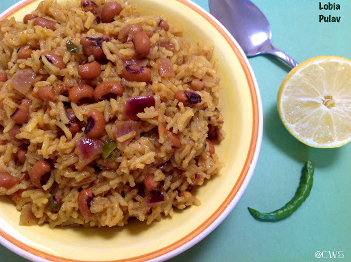 Black Eyed Beans Rice