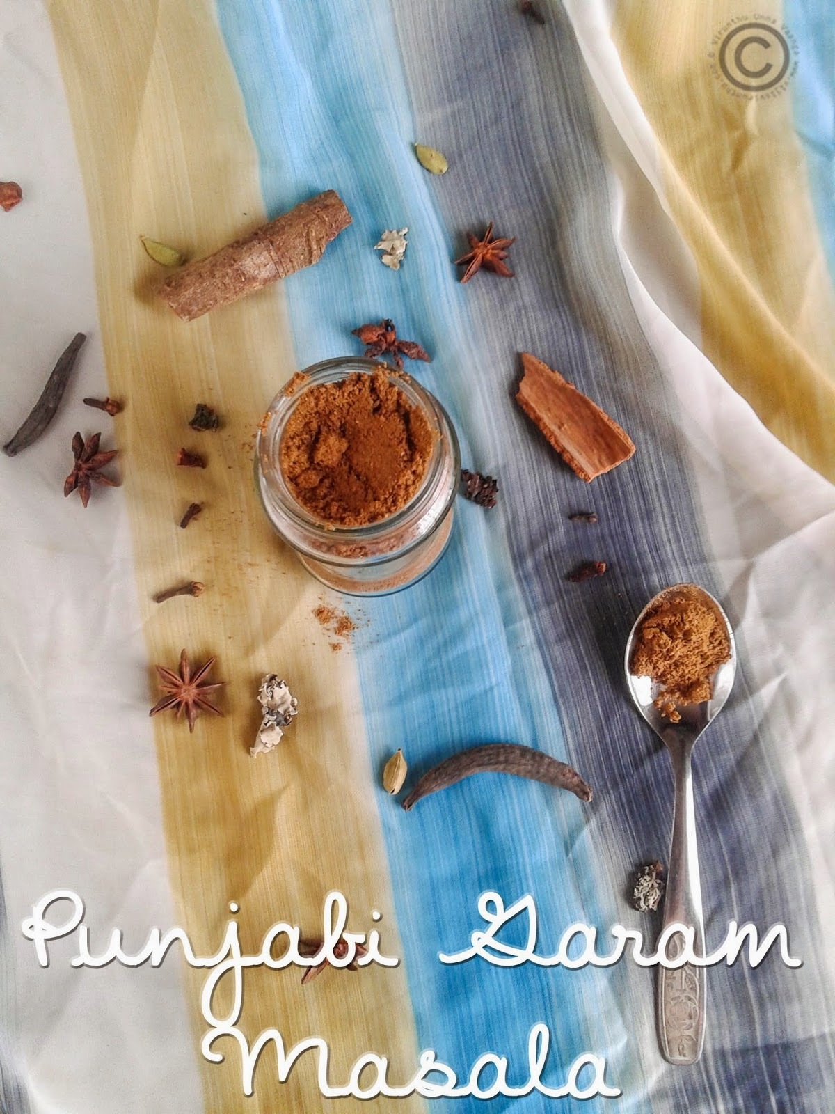 PUNJABI GARAM MASALA I HOMEMADE GARAM MASALA I BASICS OF KITCHEN