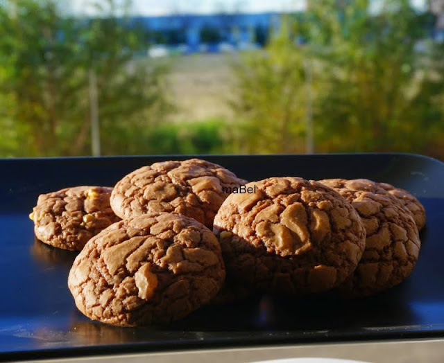 Galletas con 4 ingredientes de Nutella