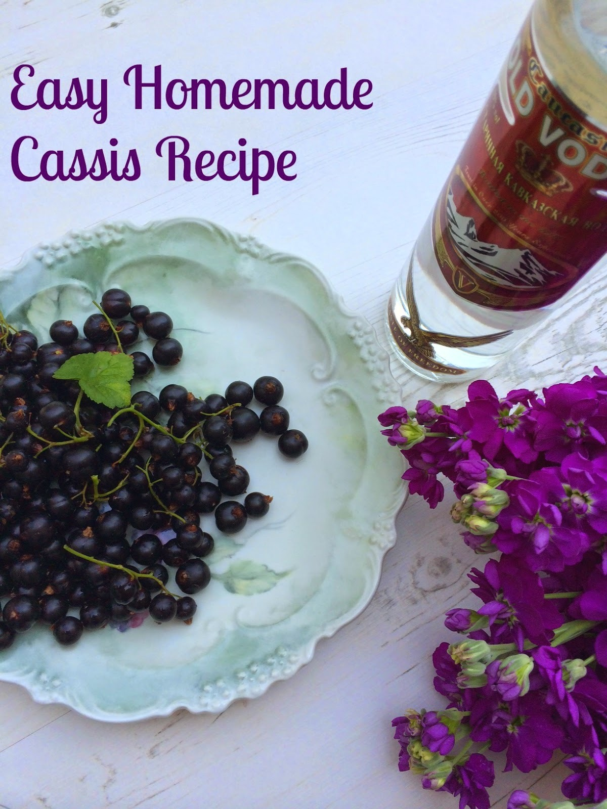 How to Make: Homemade Cassis