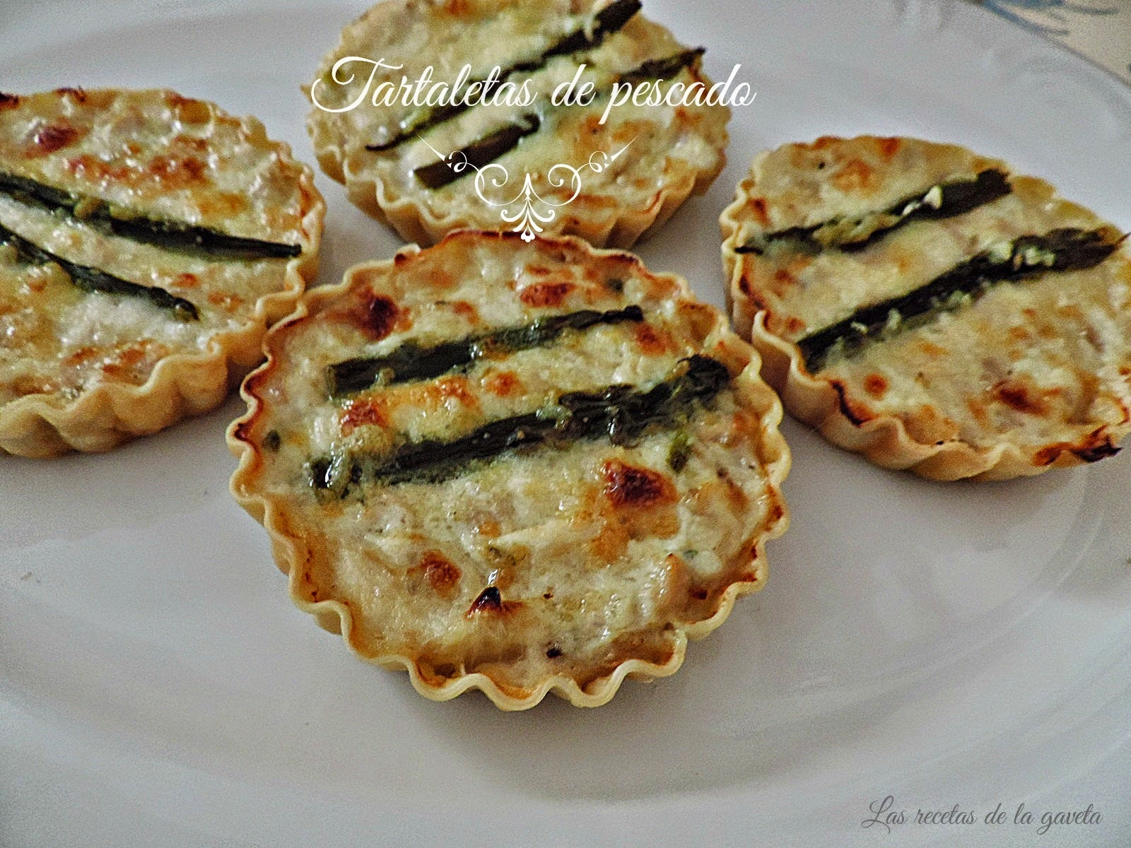 Tartaletas con pescado (Quitches)