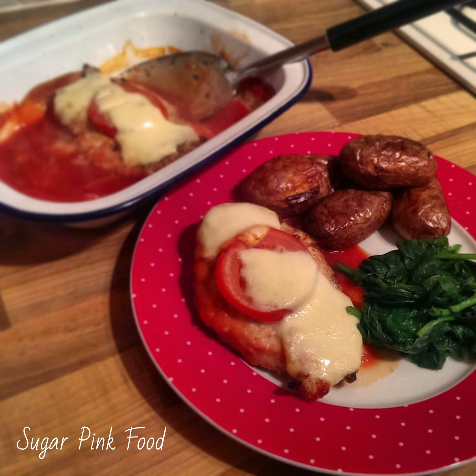Slimming World Recipe:-  Chicken Parmigiana