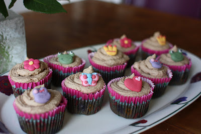 Nougat cup cakes