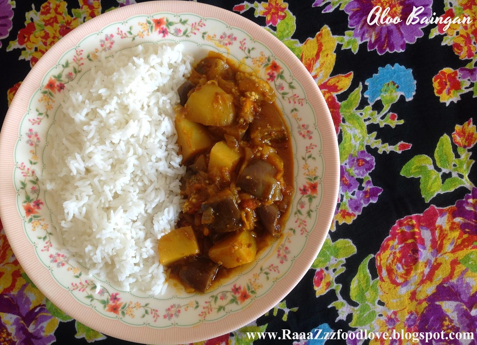 Baingan Aloo ki Sabzi | Eggplant with Potatoes