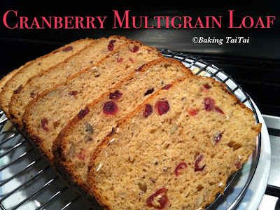 Baking Taitai's Breadmaker Multigrain Loaf