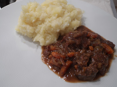 Venison Stew with Celeriac Mash