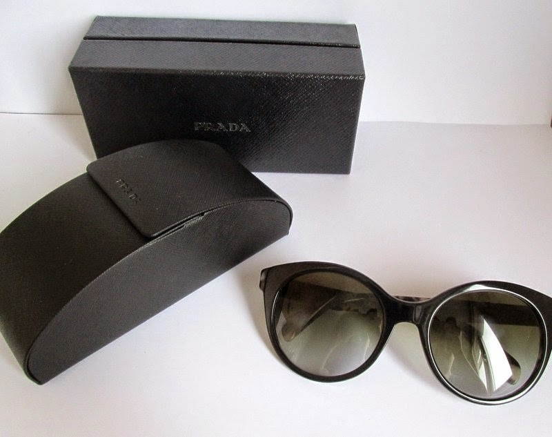 My New Babies: Statement Prada Sunglasses