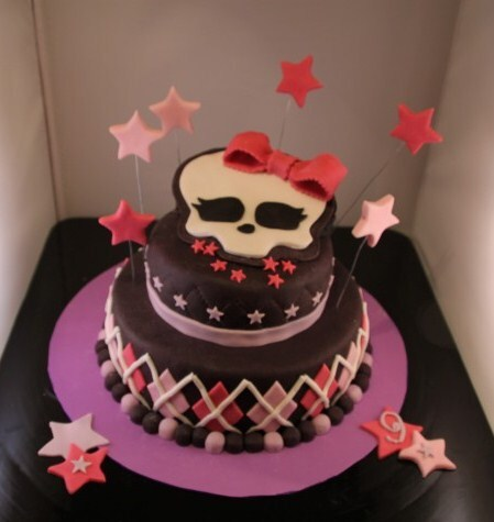 Tarta Monster High. ¡¡¡Felicidades Cris!!!