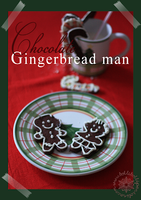 Chocolate Gingerbread men di Martha Stewart