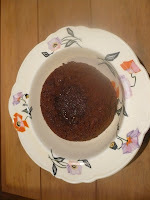 Something for the grown ups - chocolate mocha fondant