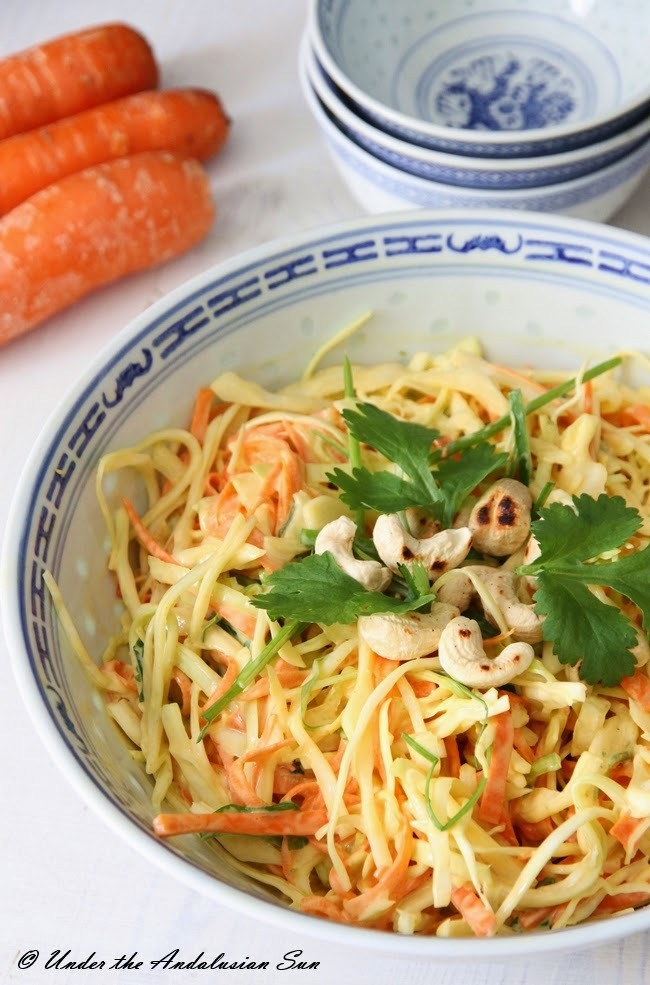 Coleslaw with Asian twist