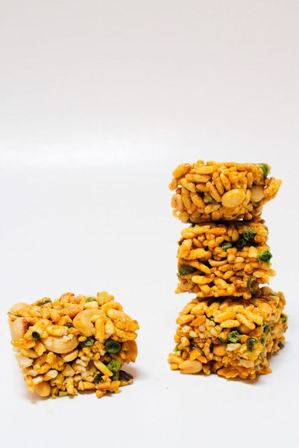 Indian Spiced Krispies, An Old Favorite Grows Up