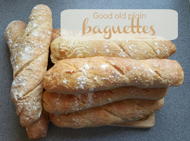 Recipe - Good old plain baguettes (Hollywood style) #GBBOBloggers2015