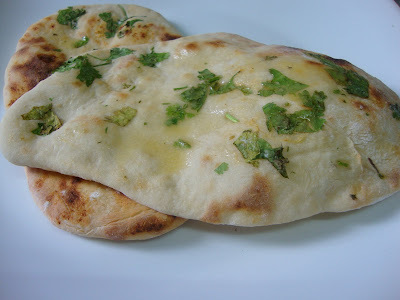 Garlic Naan ( without yeast )