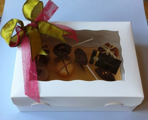 "Edible gifts .... Hand made by you. "" What's not to love ""!!!"