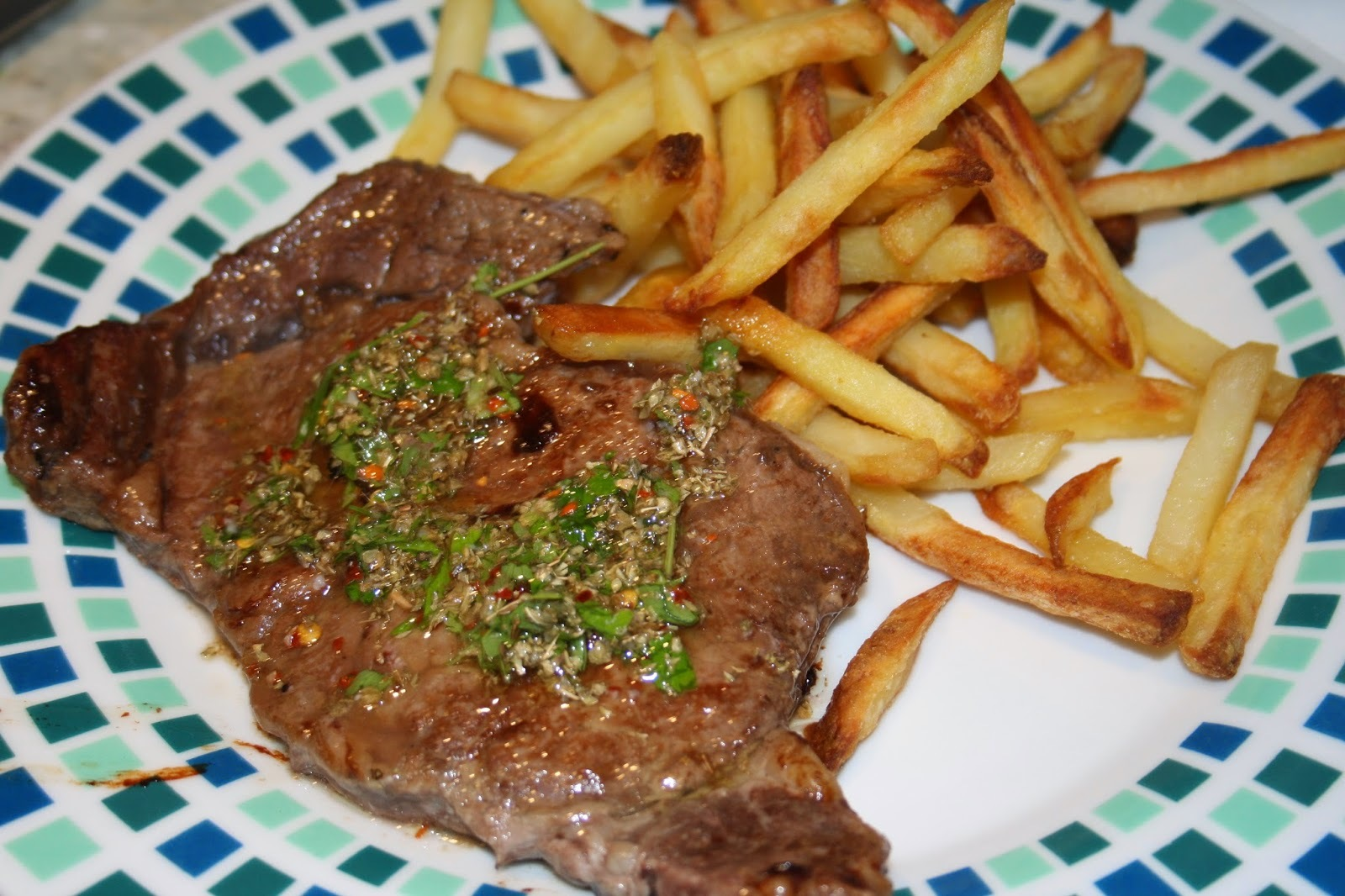 Steak with Chimmichurri