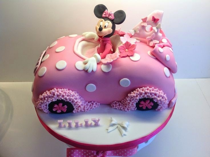 Torta decoración Minnie