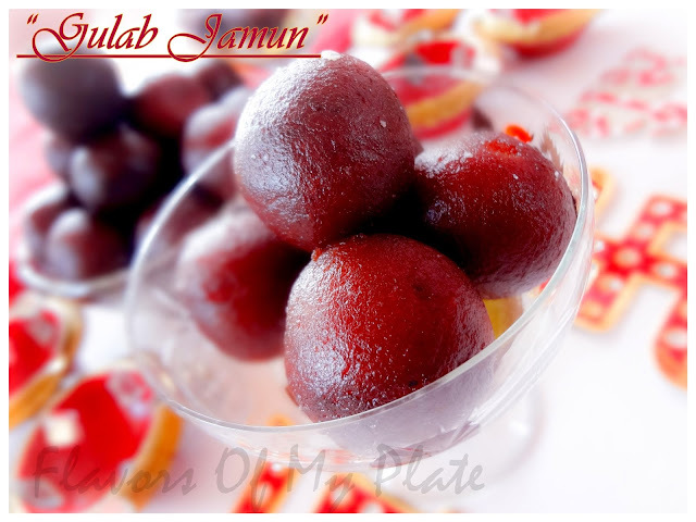 Gulab Jamun....and some Diwali Celebrations