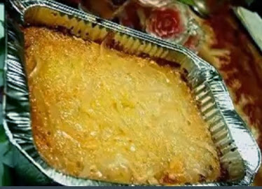 Homemade Cassava Cake - Christmas Recipe