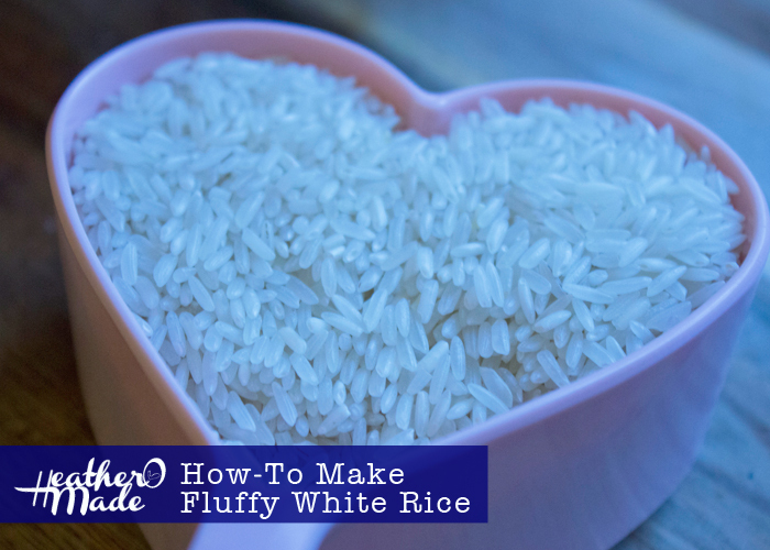 How-To Make Fluffy White Rice