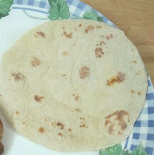 Pita bread (Kaboose) ,stove top method.