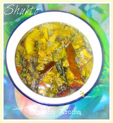 The Quintessential Shukto - Bengali spiced mixed vegetables