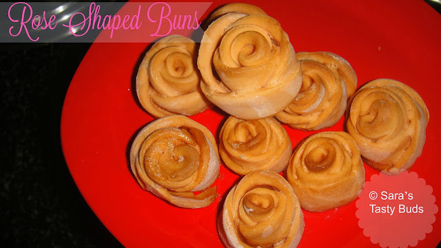 Rose Shaped Buns #Breadbakers