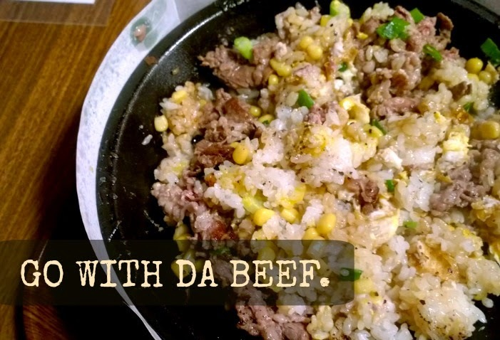 Pepper Lunch Canada - Go With Da Beef.