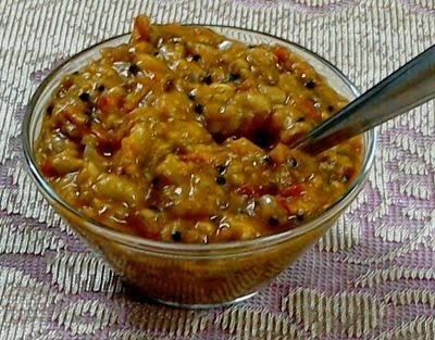 Ridgegourd Spicy Chutney for Rice and Rotis