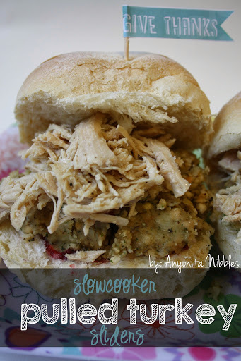 Slowcooker Pulled Turkey Sliders Recipe