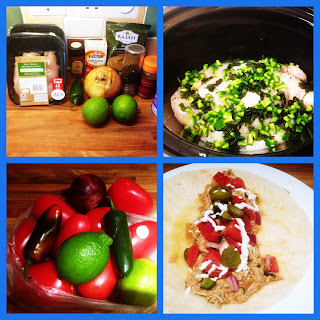 Slow Cooker Mexican Chicken..........