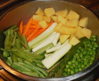 Recetas de con vaporera de bambu mytaste - Como cocinar al vapor con vaporera ...