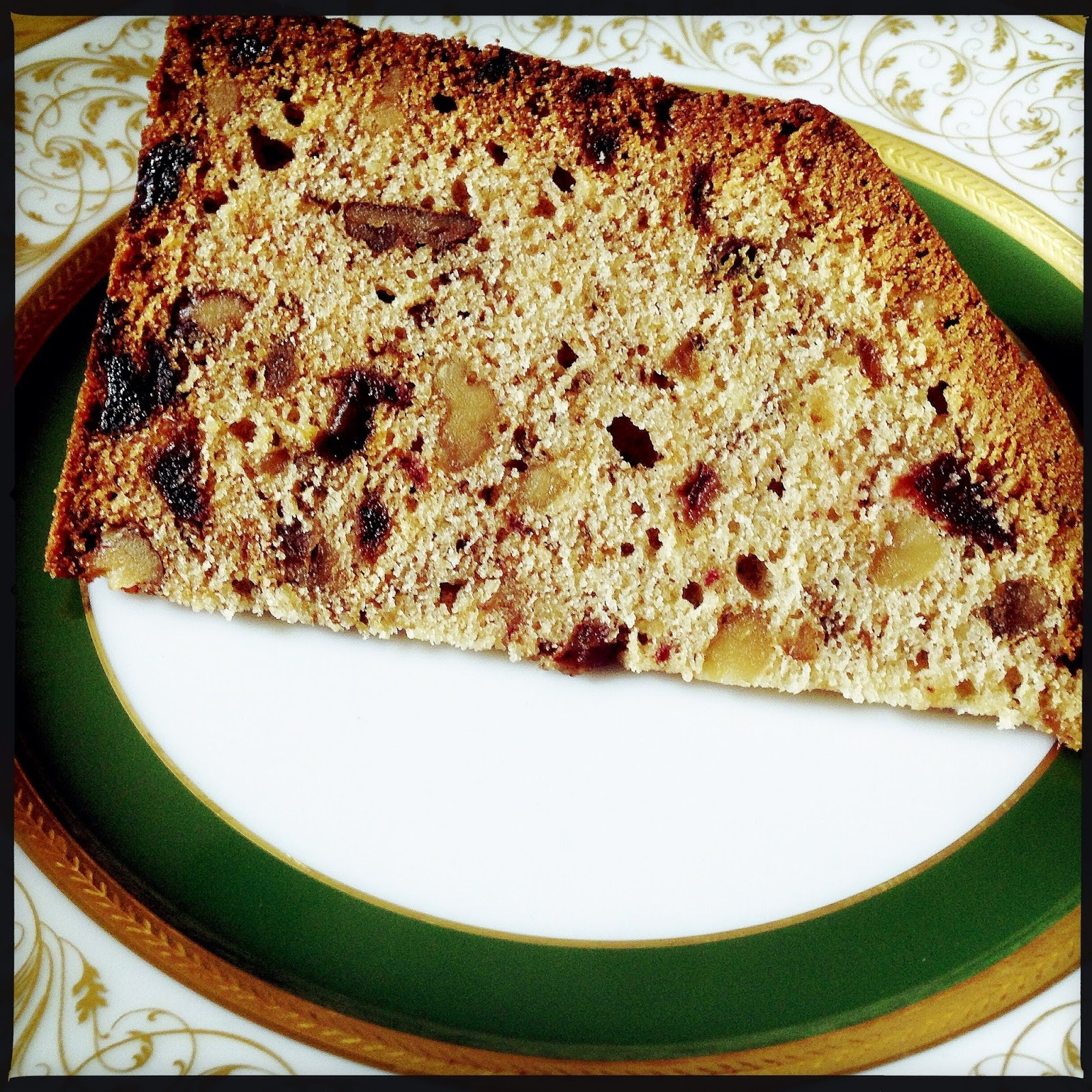 Balliol Date & Walnut Cake