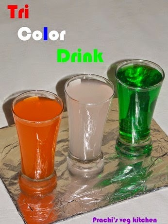 Tri-color Drink  | Independence day Special