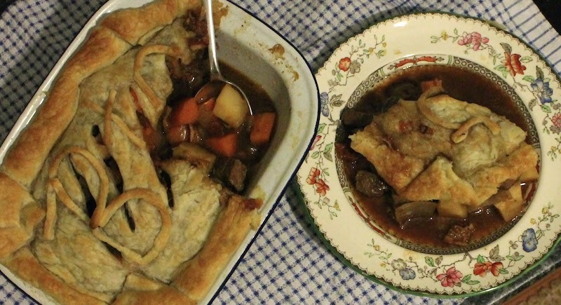 Slow Cooker Beef and Guinness Stew - or Pie