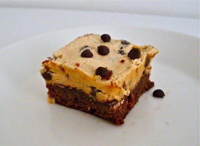 Chocolate Chip Cookie Dough Brownie