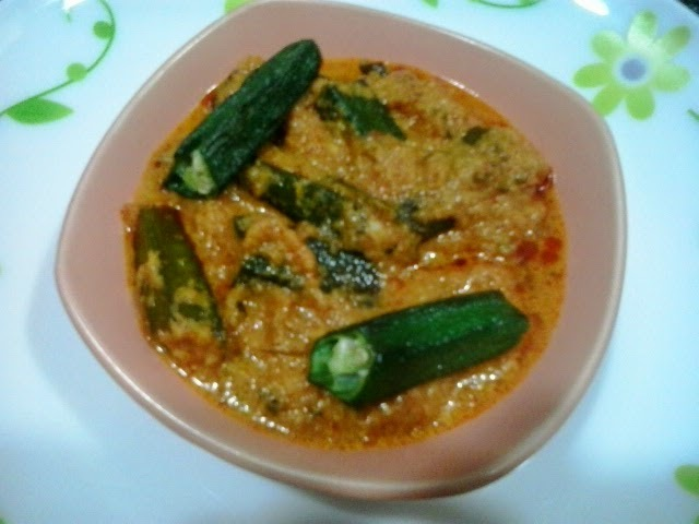 Bhindi masala gravy recipe, how to make bhindi masala curry recipe