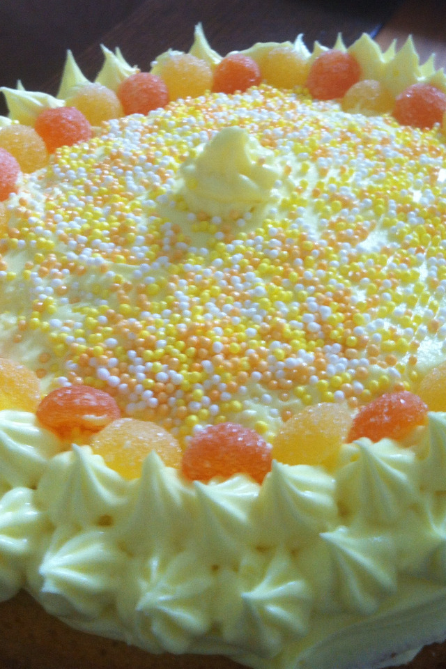 St Clements (oranges and lemons) cake